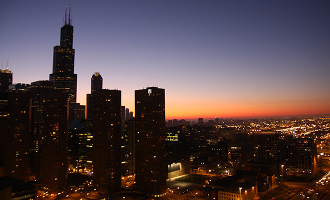 chicago by carl sandburg theme