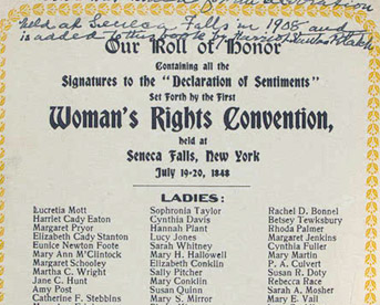 declaration of sentiments and resolutions rhetorical analysis