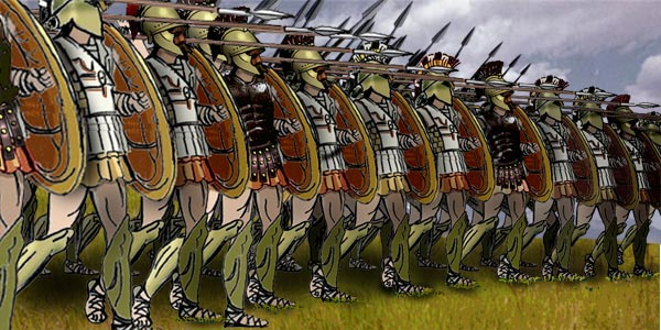 Reconstructed Greek Phalanx