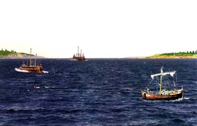 Reconstruction of the Hellespont during Persian Wars