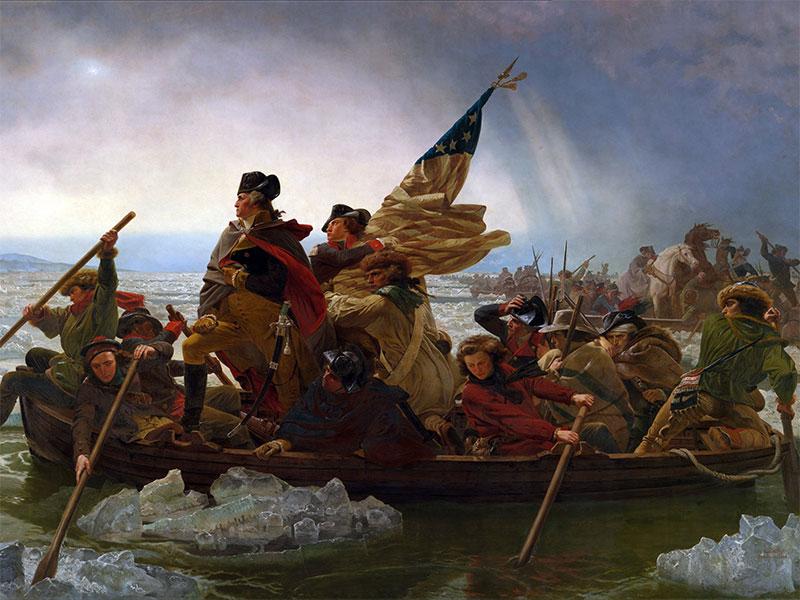 Emanuel Leutze's Symbolic Scene of Washington Crossing the Delaware |  NEH-Edsitement