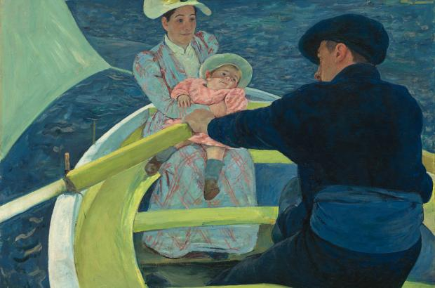 """The Boating Party,"" Mary Cassatt, 1893/1894."