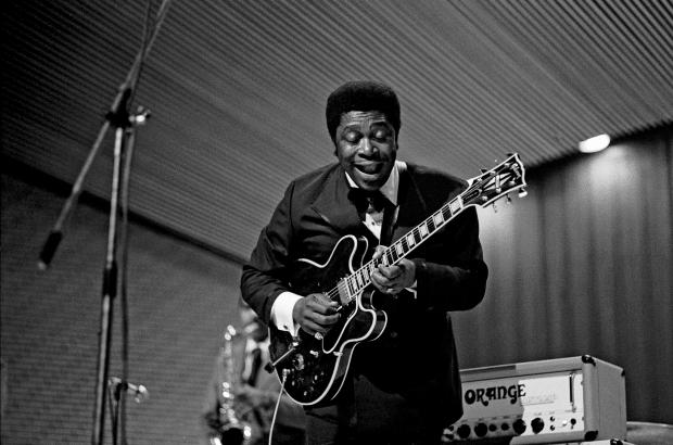 B.B. King Live in Hamburg, Germany, November 1971.