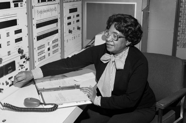 Photograph of Mary Jackson, who in 1958 became NASA's first black female engineer.