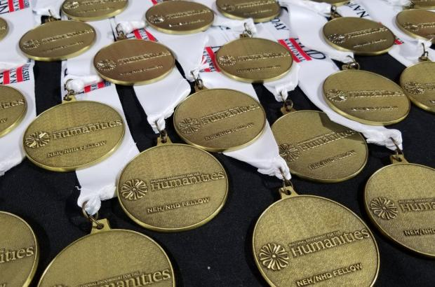 National Endowment for the Humanities medals presented to National History Day Scholars.