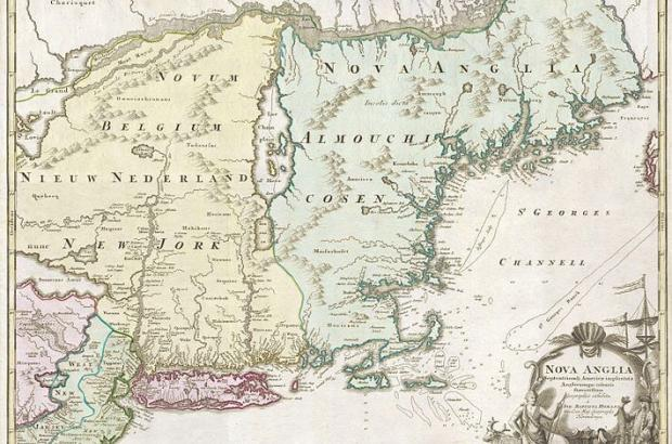 Mapping a New World: Places of Conflict and Colonization in 17th-Century New England