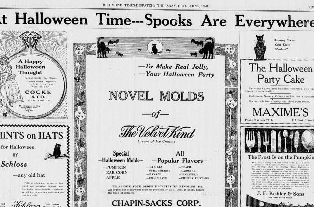 Richmond Times Dispatch, October 28, 1920.