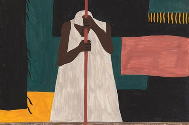 Jacob Lawrence (1917–2000), The Migration of the Negro Panel no. 57
