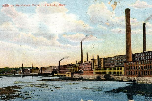 Merrimack Mill, Lowell, MA