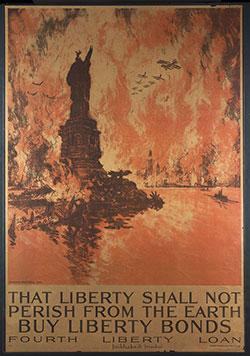 """That liberty shall not perish from the earth (detail – see full image in body copy)"" - Buy liberty bonds Fourth Liberty Loan"