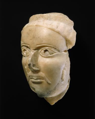 Head of a man, ca. 3rd–4th century A.D.