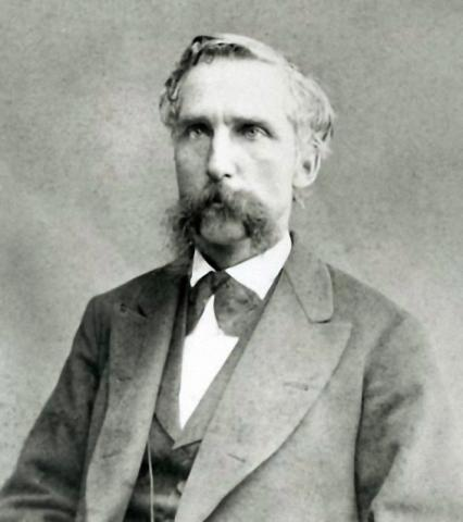 Photograph of Joshua Lawrence Chamberlain as Governor of Maine in 1866.