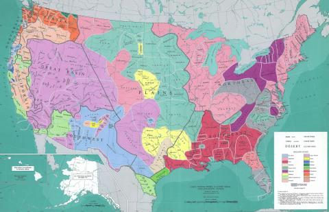 Early localization and languages of American Indians.