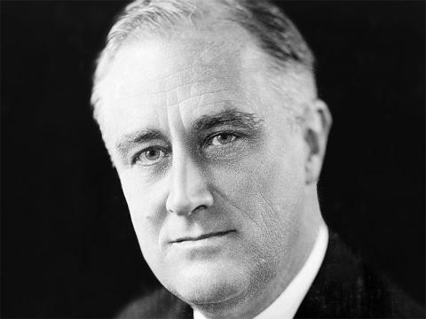 President Franklin D. Roosevelt tried to keep the U.S. out of World War II as long as possible.