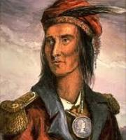 Portrait of Shawnee Chief Tecumseh