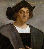 1519 portrait by Sebastiano del Piombo of a man said to be Christopher Columbus