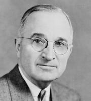 President Harry S. Truman guided the United States through the early years of the Cold War