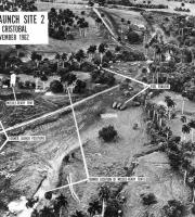 U.S. reconnaissance photograph of soviet missile sites on Cuba