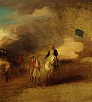 Cornwallis's surrender at Yorktown