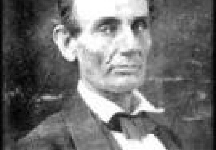 Abraham Lincoln at the time of his historic debates with Stephen A. Douglas.