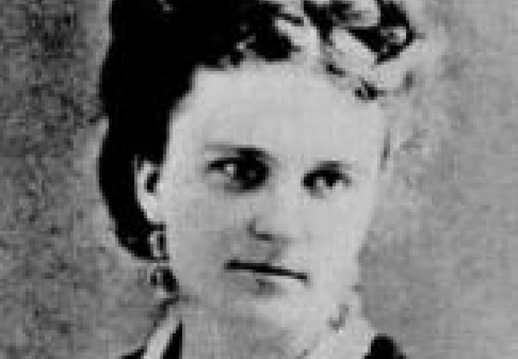 Kate Chopin. Image from the archives of the Missouri Historical Society.