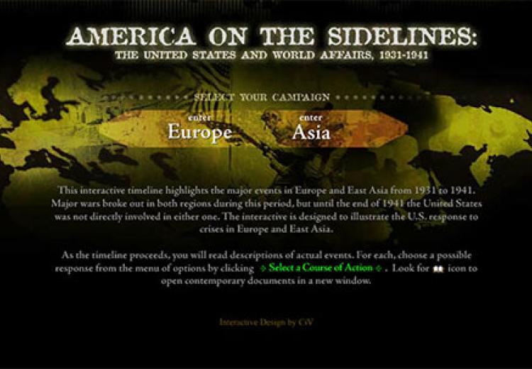 adae33bf1d4 America on the Sidelines  The United States and World Affairs
