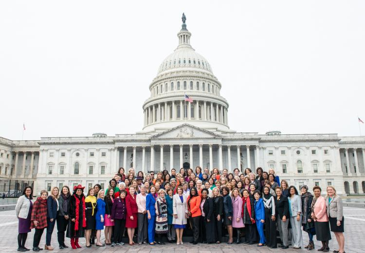 The women of the 116th Congress, House of Representatives.