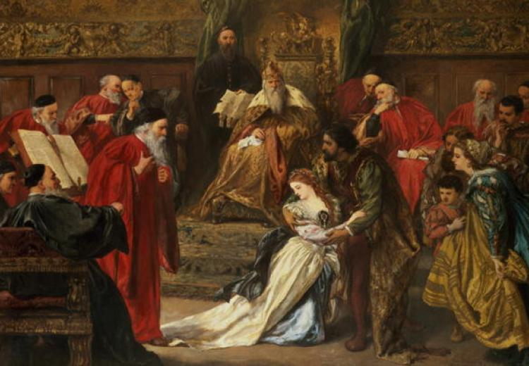 Cordelia in the Court of King Lear (1873)