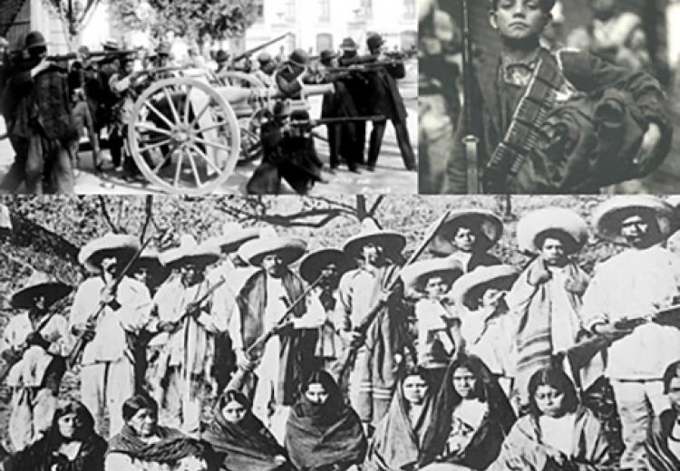 Mexican Revolution collage