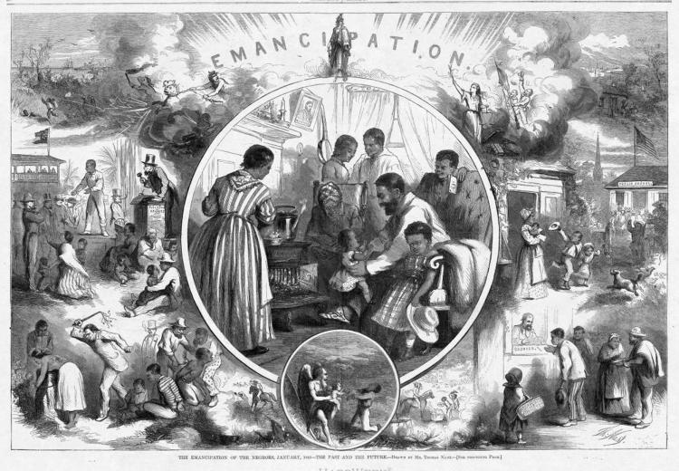 """The Emancipation of the Negroes, January, 1863—The Past and the Future"""