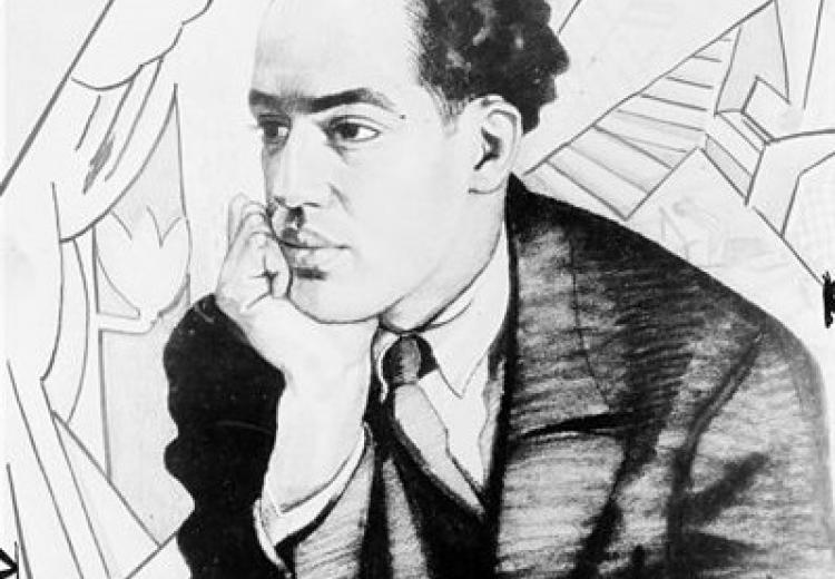 Portait of Langston Hughes by Winold Reiss, 1927