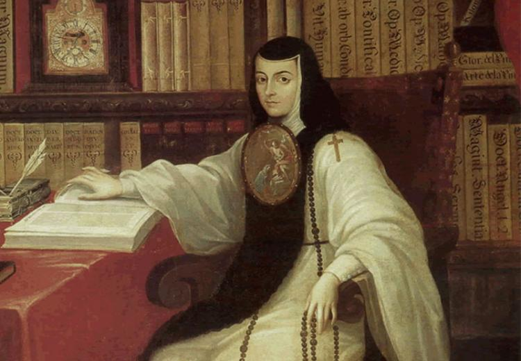Portrait of Sor Juana Inés de la Cruz (1648-1695)