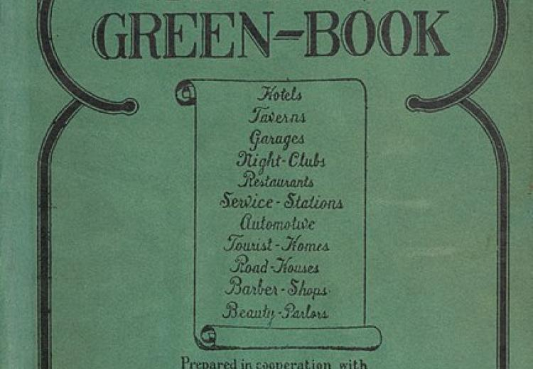 Cover of the 1940 edition of The Negro Motorist Green Book created by Victor Hugo Green