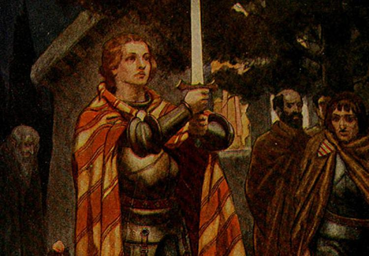 Comparing the Knights of the Round Table to other Medieval