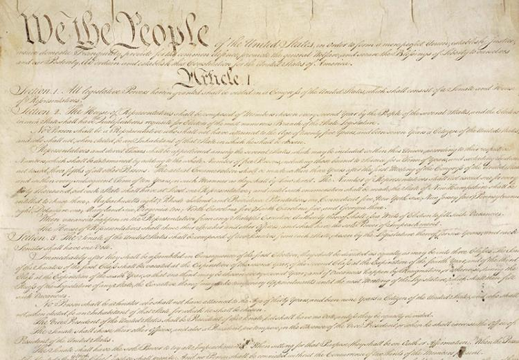 The Preamble to the Constitution: A Close Reading Lesson