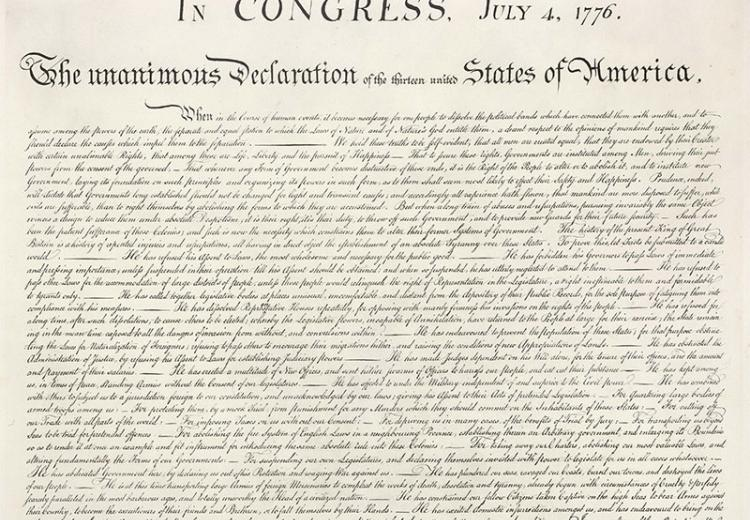 The Declaration Of Independence An Expression Of The