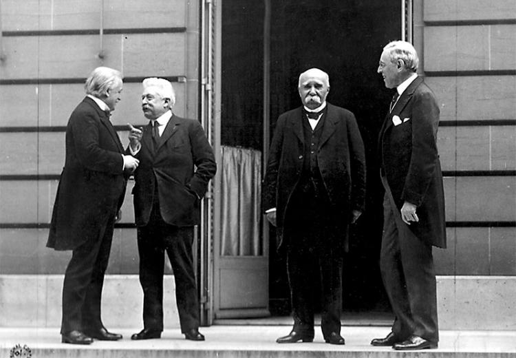 Council of Four at the WWI Paris peace conference, May 27, 1919