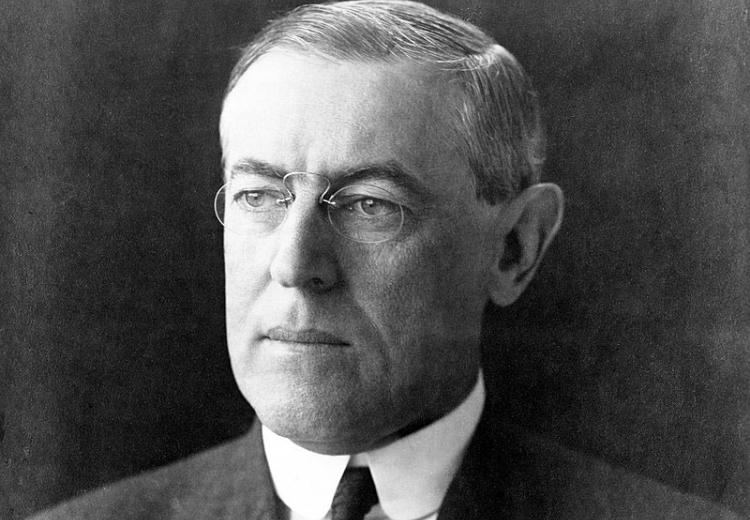 In the aftermath of the First World War, Woodrow Wilson tried to push a  comprehensive and enlightened peace plan.