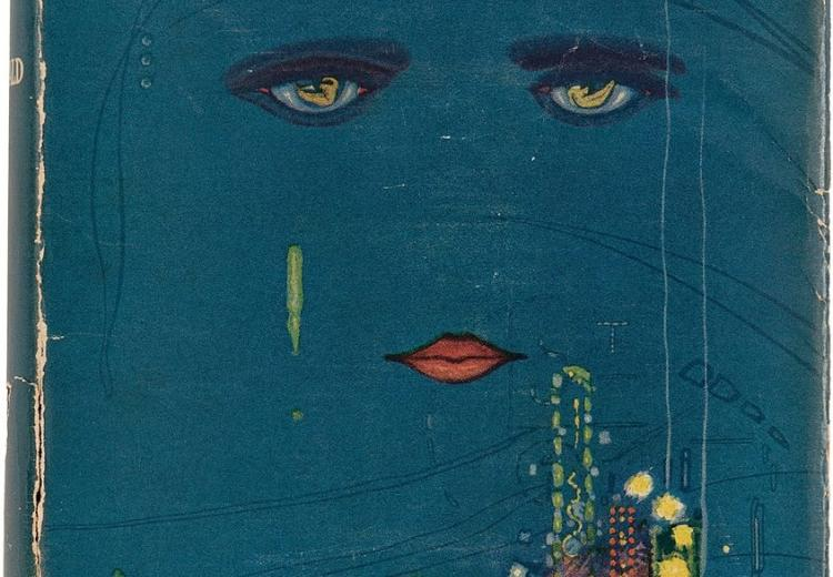 Cover art for The Great Gatsby.