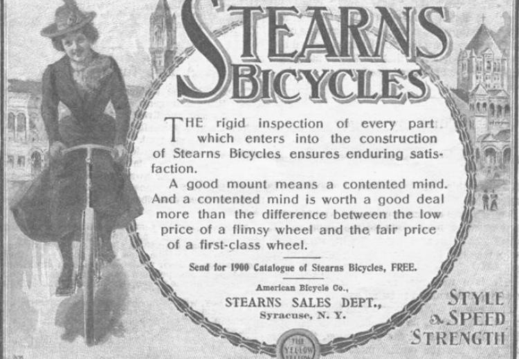 E. C. Stearns & Company of Syracuse, New York in 1900.