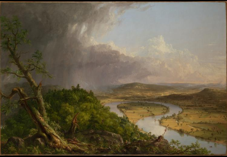 "Thomas Cole, ""The Oxbow,"" 1836"