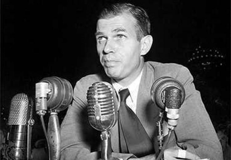 Alger Hiss, a State Department official, was accused of spying for the Soviet Union in 1948