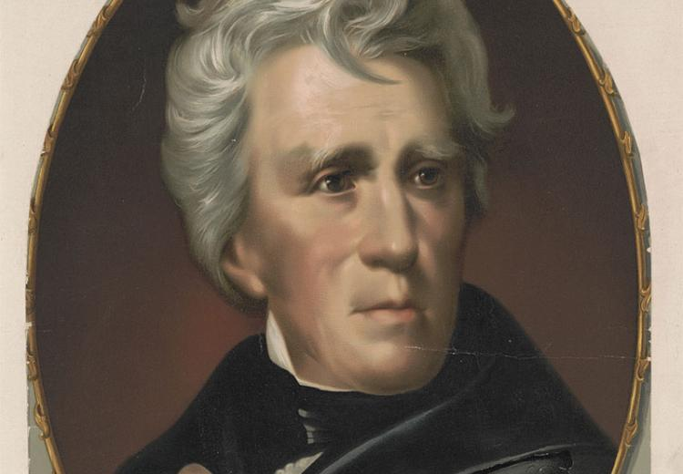Andrew Jackson was one of four presidential candidates in 1824.