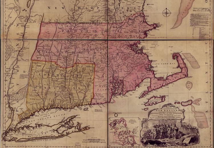 Mapping Colonial New England: Looking at the Landscape of ...