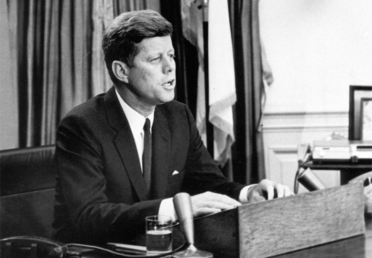 President Kennedy addresses the nation on Civil Rights, June 11, 1963.