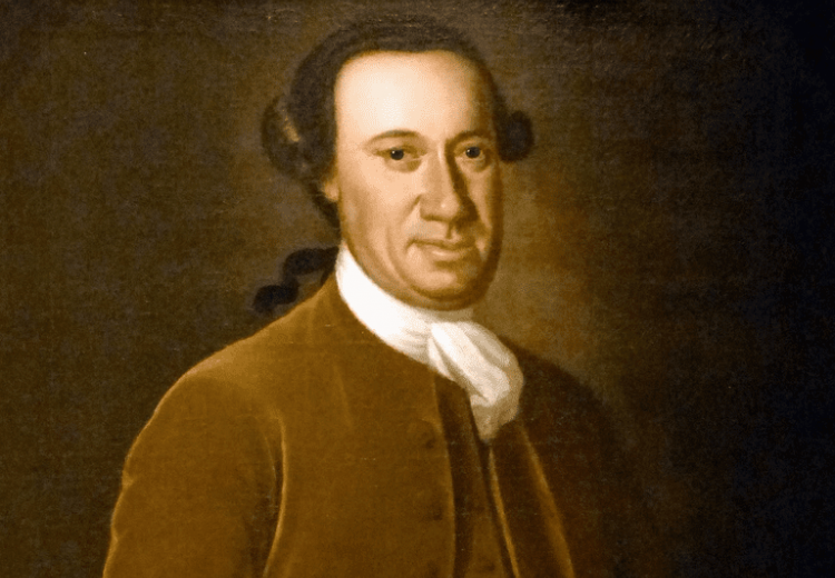 Portrait of John Hanson, President of the Continental Congress, circa 1770.