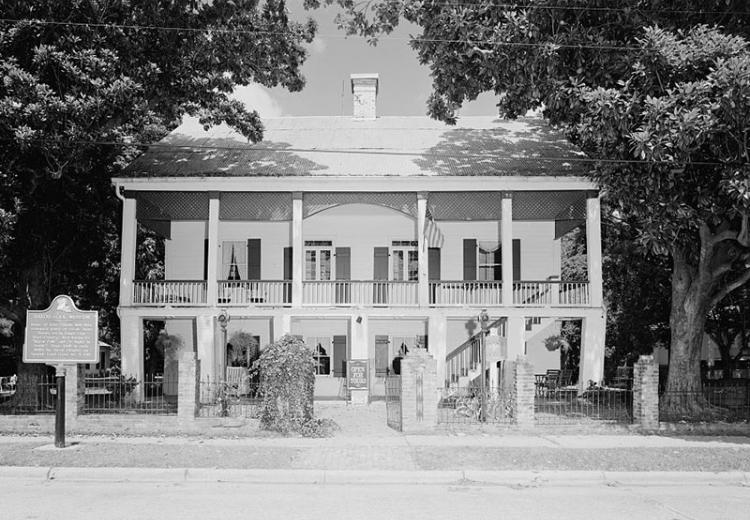 Kate Chopin House, State Highway 495, Cloutierville, Natchitoches Parish, LA