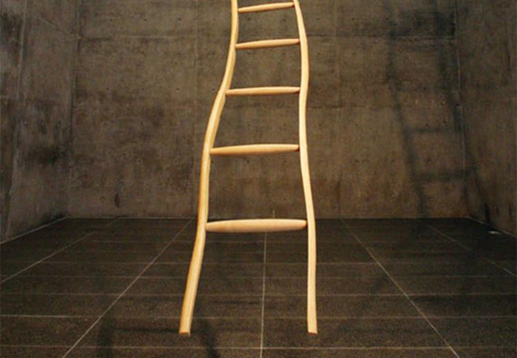 Martin Puryear (1941–), Ladder for Booker T. Washington, 1996.