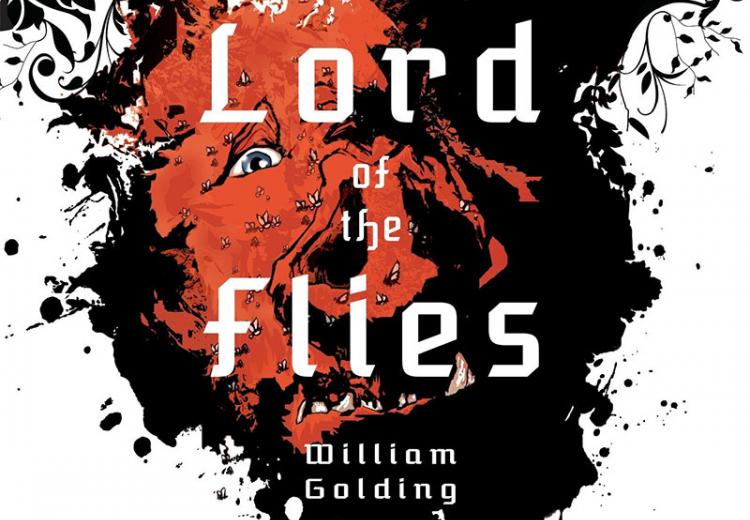 Lord of the Flies book cover.