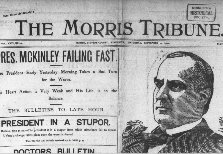 Morris Tribune, September 14, 1901.